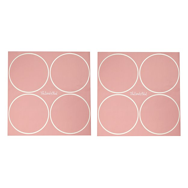 Geometric Furniture Decal (Pink Dot)