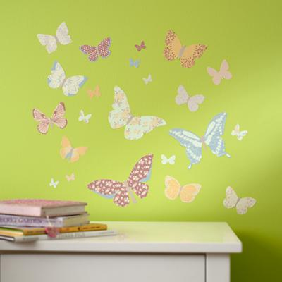 Just a Butterfly on the Wall Decal Set