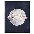 Pink Moon and Back Poster Decal