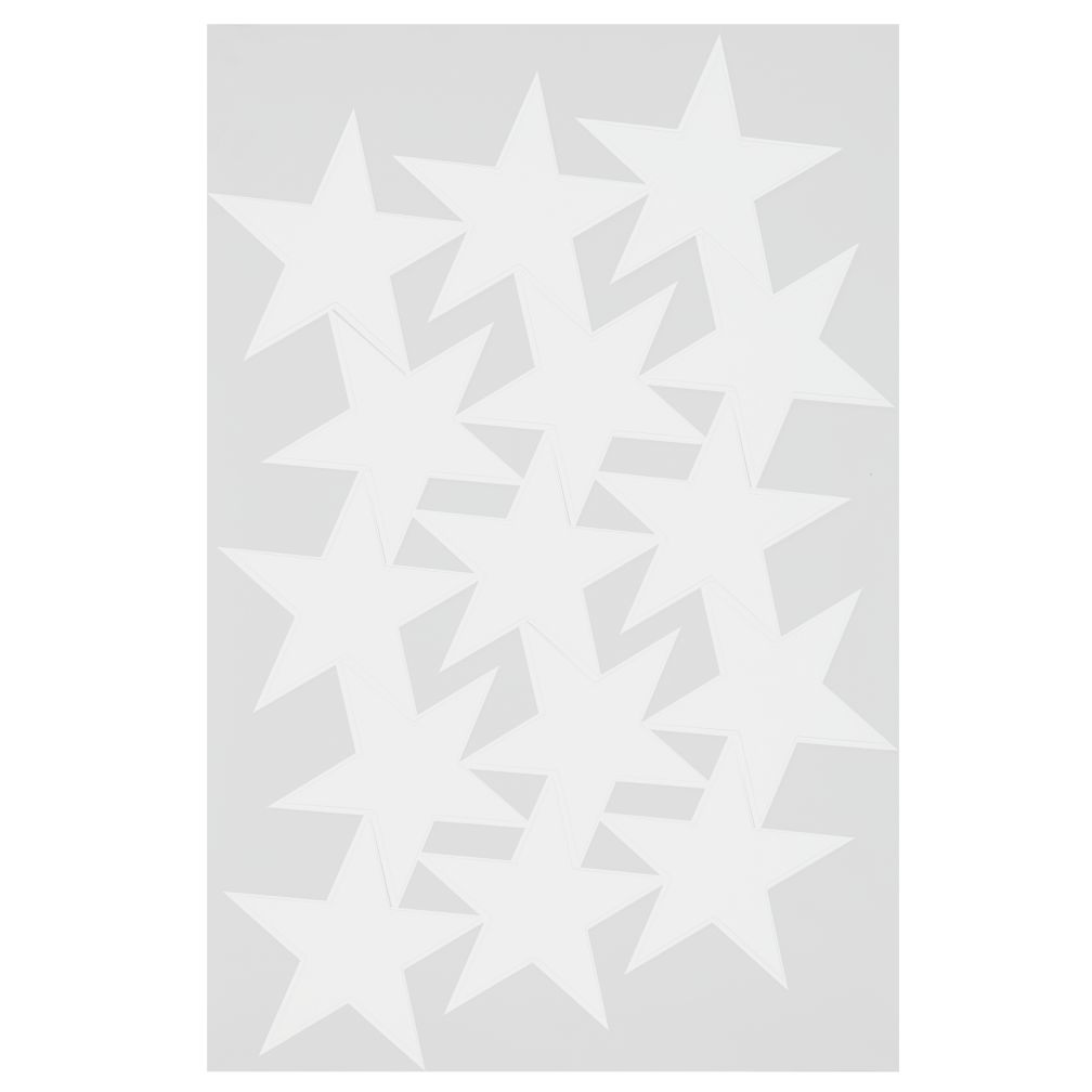 Star Bright Decal (White)