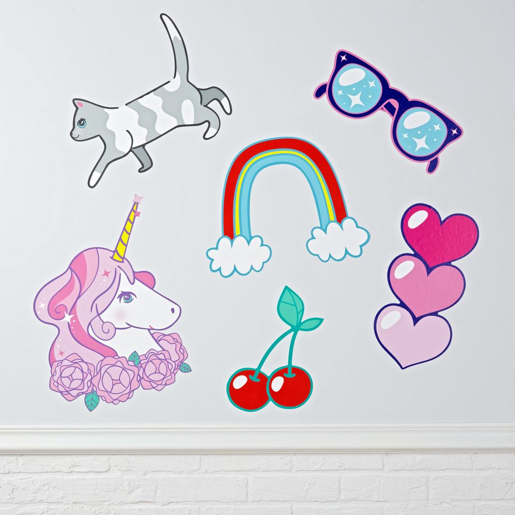 Sticker Book Decals