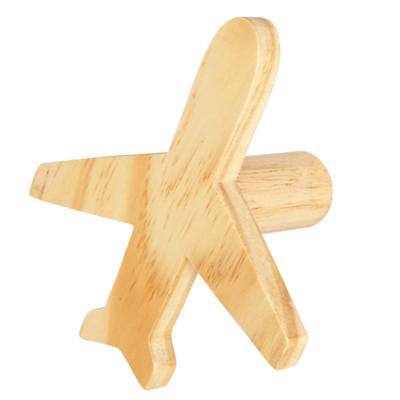 Can't Miss Plane Knob (Wood)