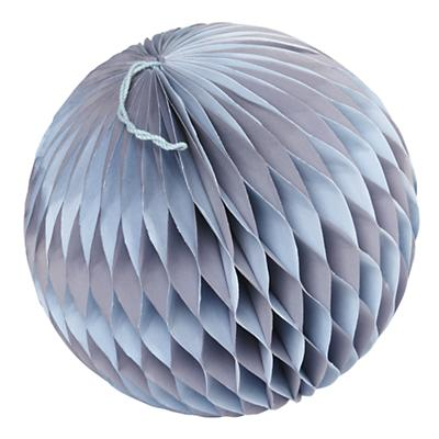 Medium Well Rounded Paper Ball (Purple)