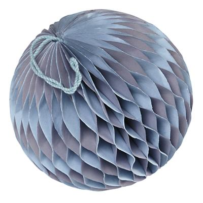 Small Well Rounded Paper Ball (Purple)