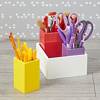 Multicolor Desk Caddy