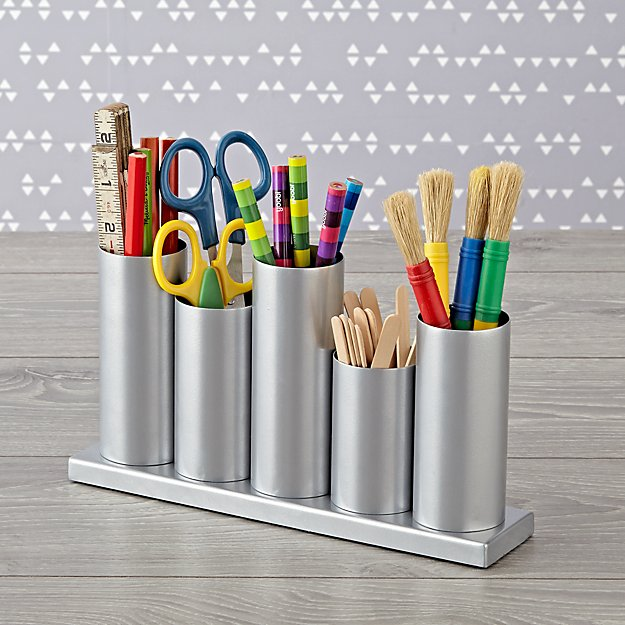 Perfect Pitch Silver Storage Caddy