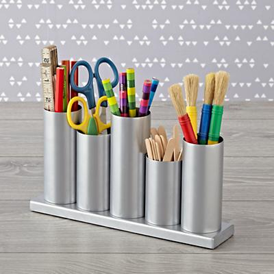 Desk_Caddy_Perfect_Pitch_Silver