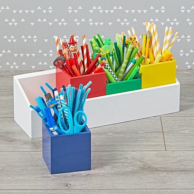 Multicolor Desk and Wall Caddy