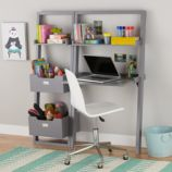 Little Sloane Leaning Desk (Grey)