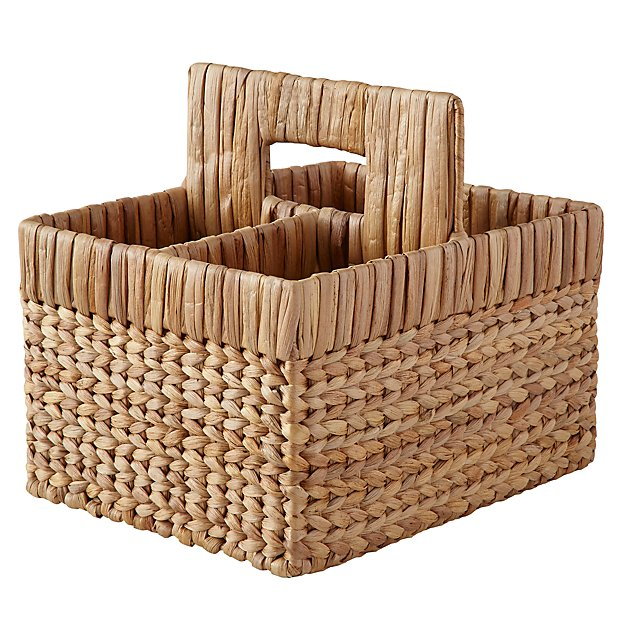 Wonderful Wicker Natural Diaper Caddy