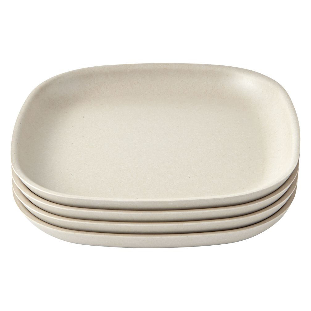 Set of 4 Gusto Side Plates (Stone)