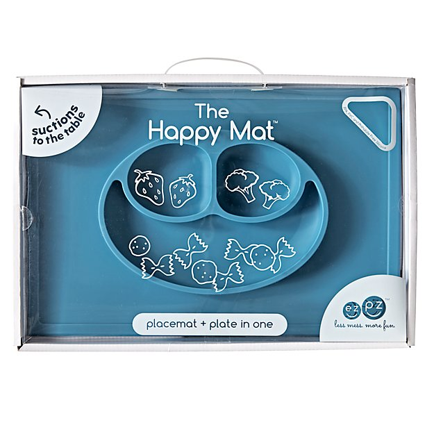 Happy Mat (Blue)
