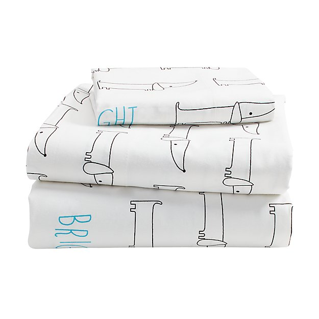 Early Edition Toddler Sheet Set (Dog)