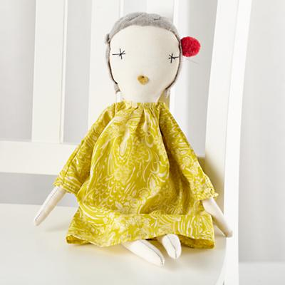 Jess Brown Pixie Doll Carol