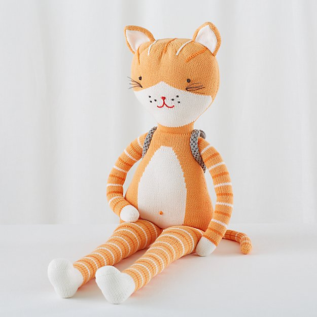 """The 36"""" Knit Crowd Cat"""