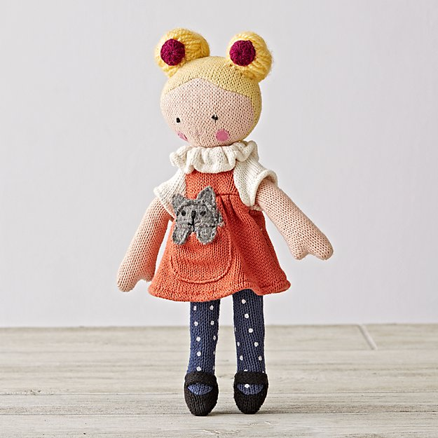 Knit Crowd Toddler Doll Blonde