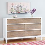 Andersen 6-Drawer Dresser (Whitewash)