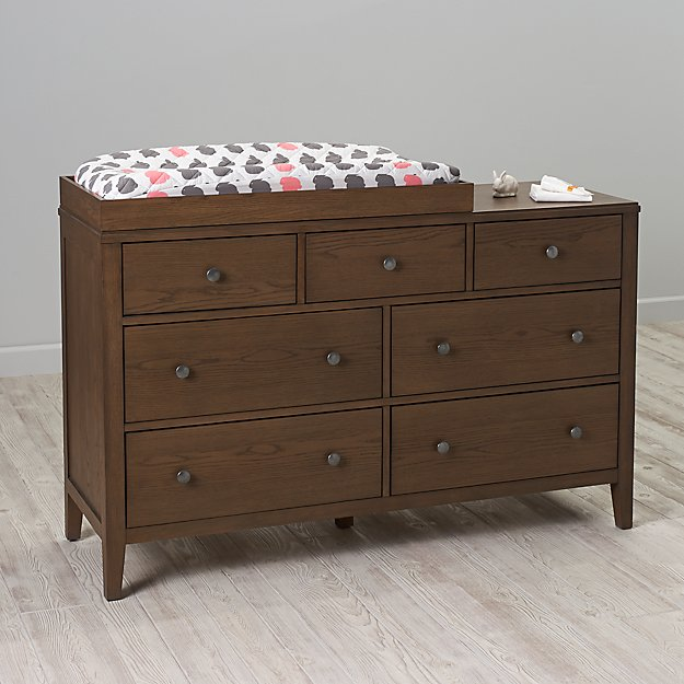 Archway 7-Drawer Changing Table (Cocoa)