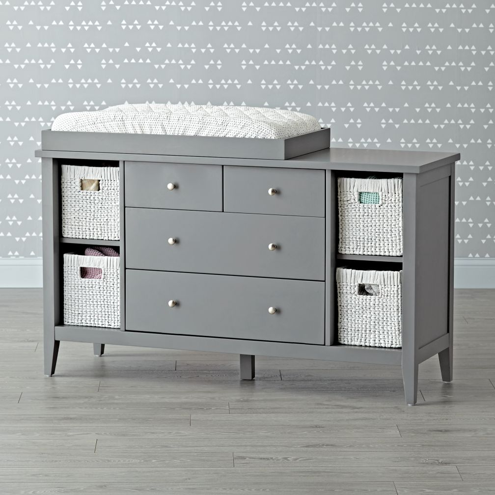 Blake Grey Changing Table