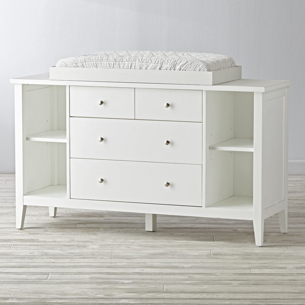 Blake White Changing Table
