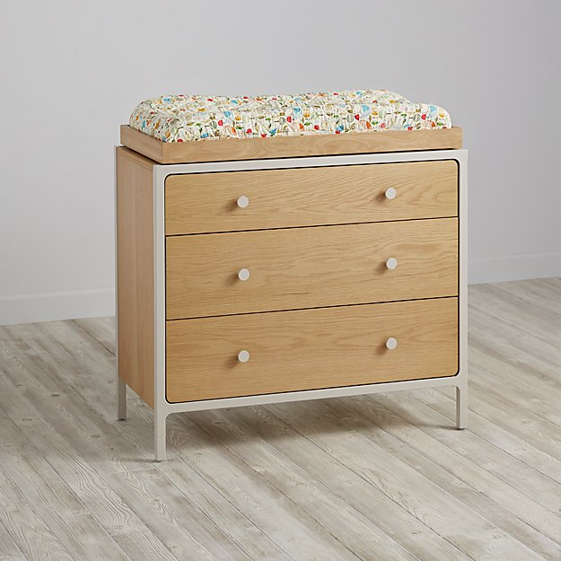 Larkin 3-Drawer Changing Table (Stone)
