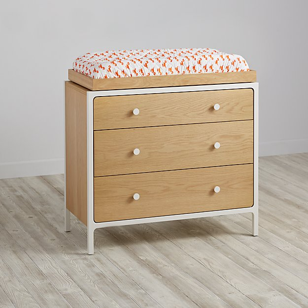 Larkin 3-Drawer Changing Table (White)