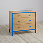 Blue Primary 3-Drawer Dresser