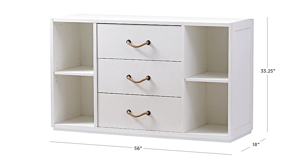 Dresser Dimensions wide changing table | the land of nod