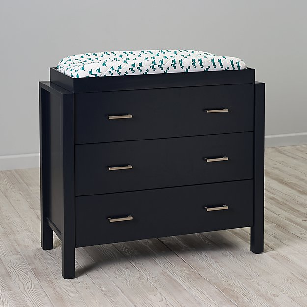 Uptown 3-Drawer Changing Table (Midnight Blue)