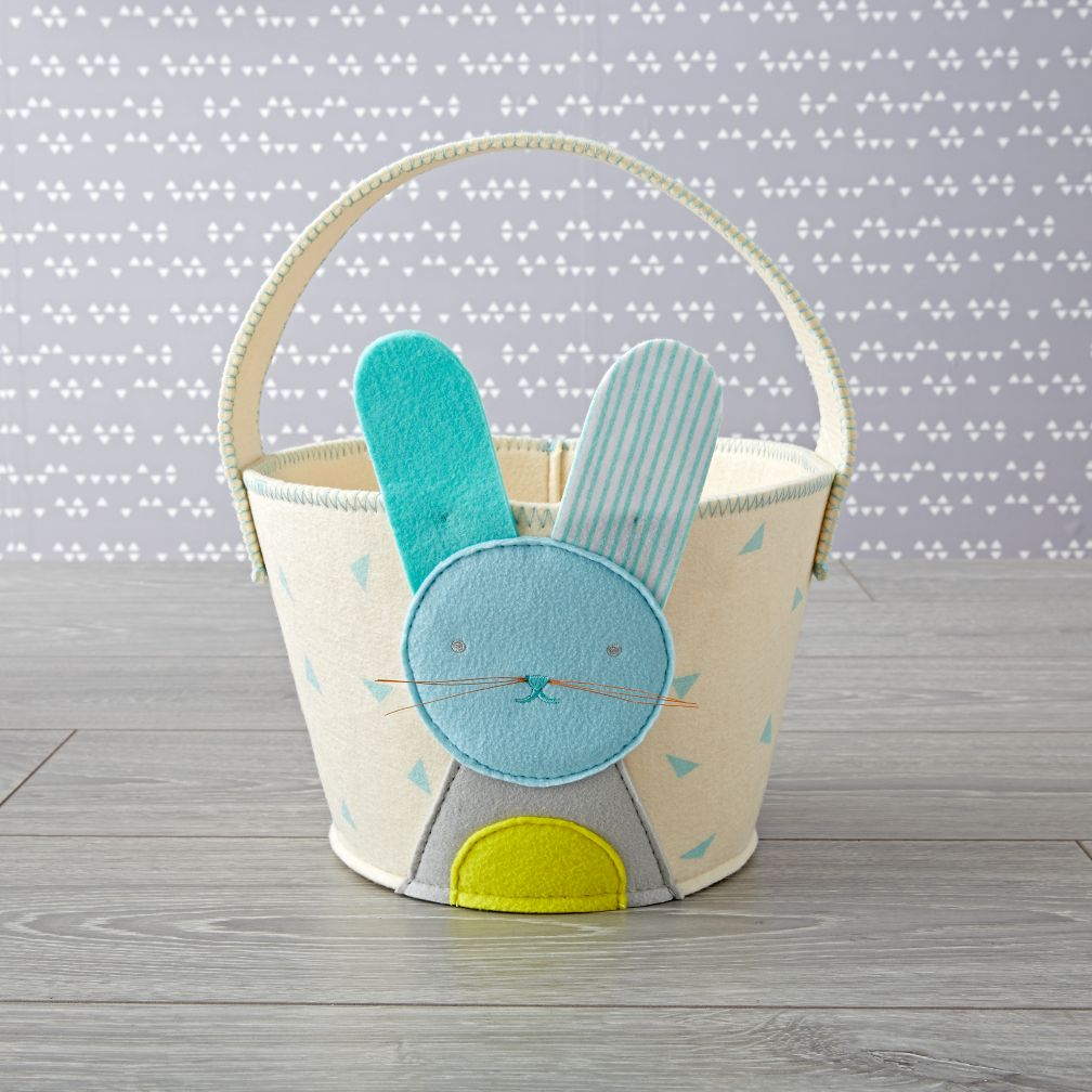 Blue Bunny Easter Basket