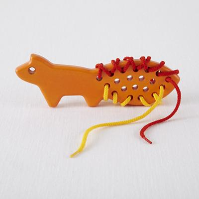 Lacing Orange Fox