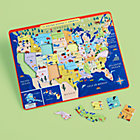 Mountains to Prairies USA Tray Puzzle
