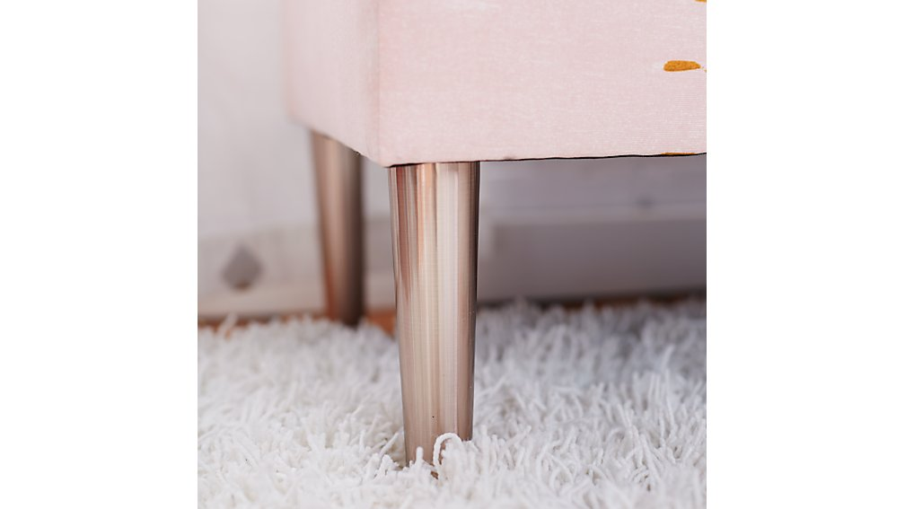 Upholstered Storage Bench (Ashley Abstract)