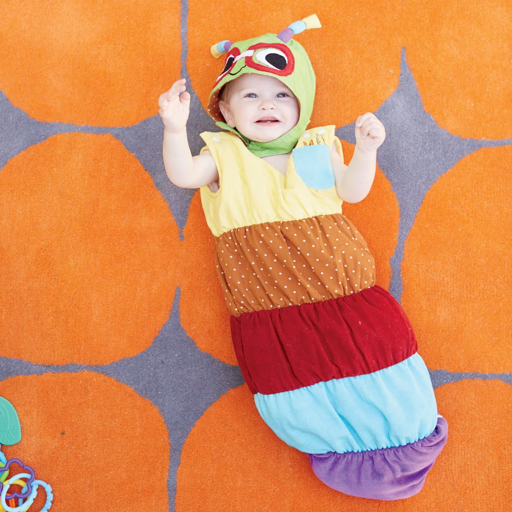 Inchworm Baby Costume