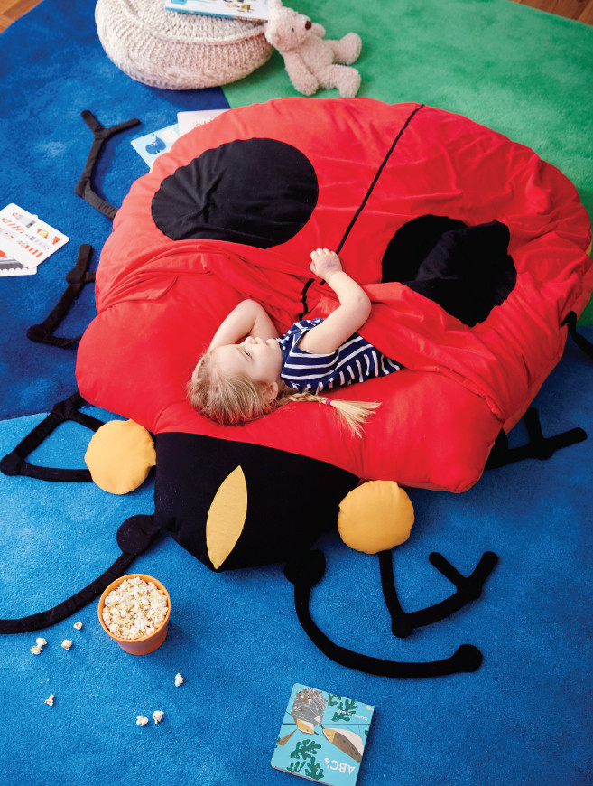 Sidekick Giant Ladybug Stuffed Animal