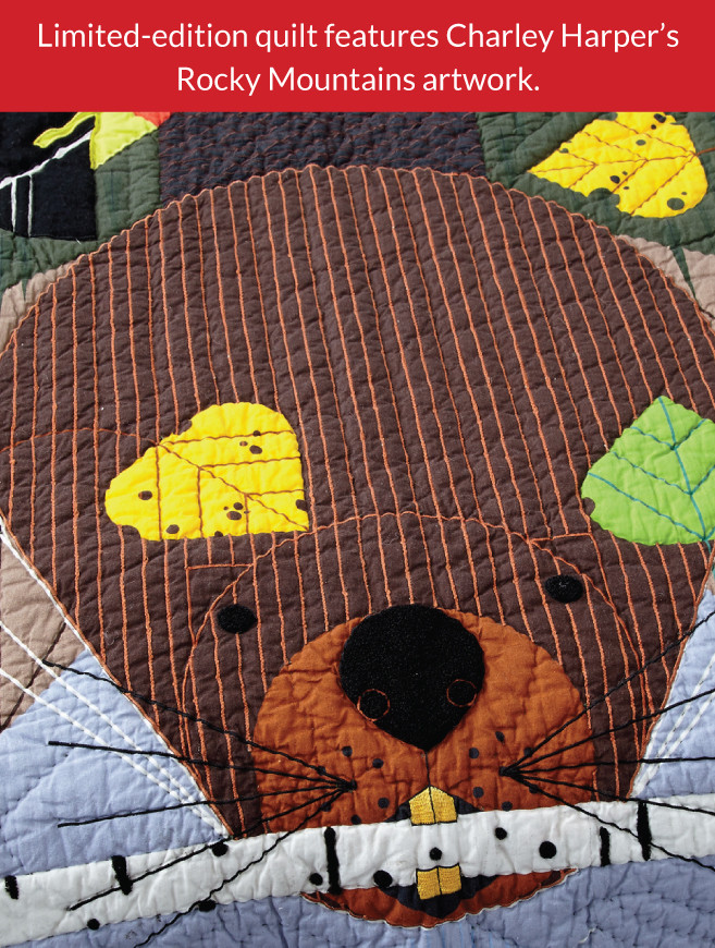 Limited Edition Rocky Mountain Quilt