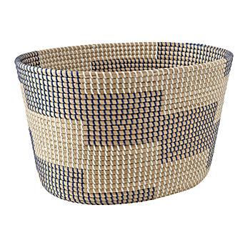 Merchant Dark Blue Floor Basket