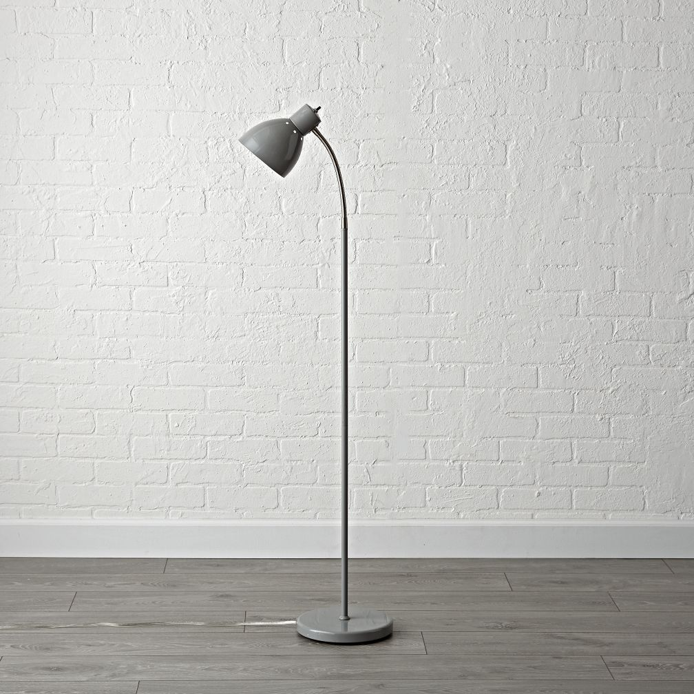 Kids floor lamps the land of nod bright idea grey floor lamp aloadofball Images