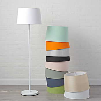mix and match white floor lamp base