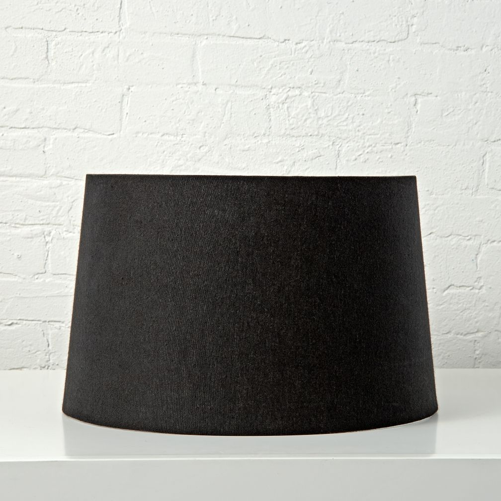 Mix and Match Black Floor Lamp Shade