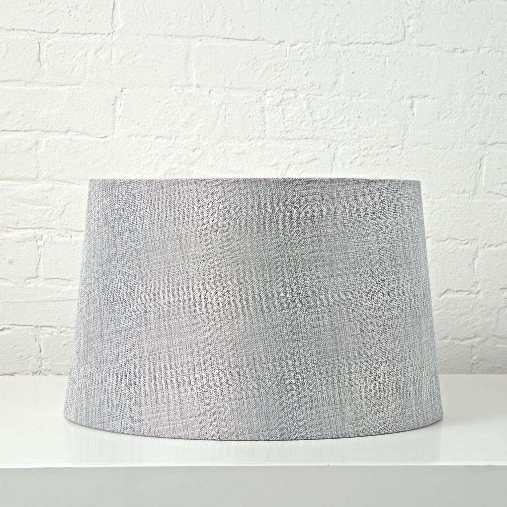 Mix and Match Silver Textured Floor Shade