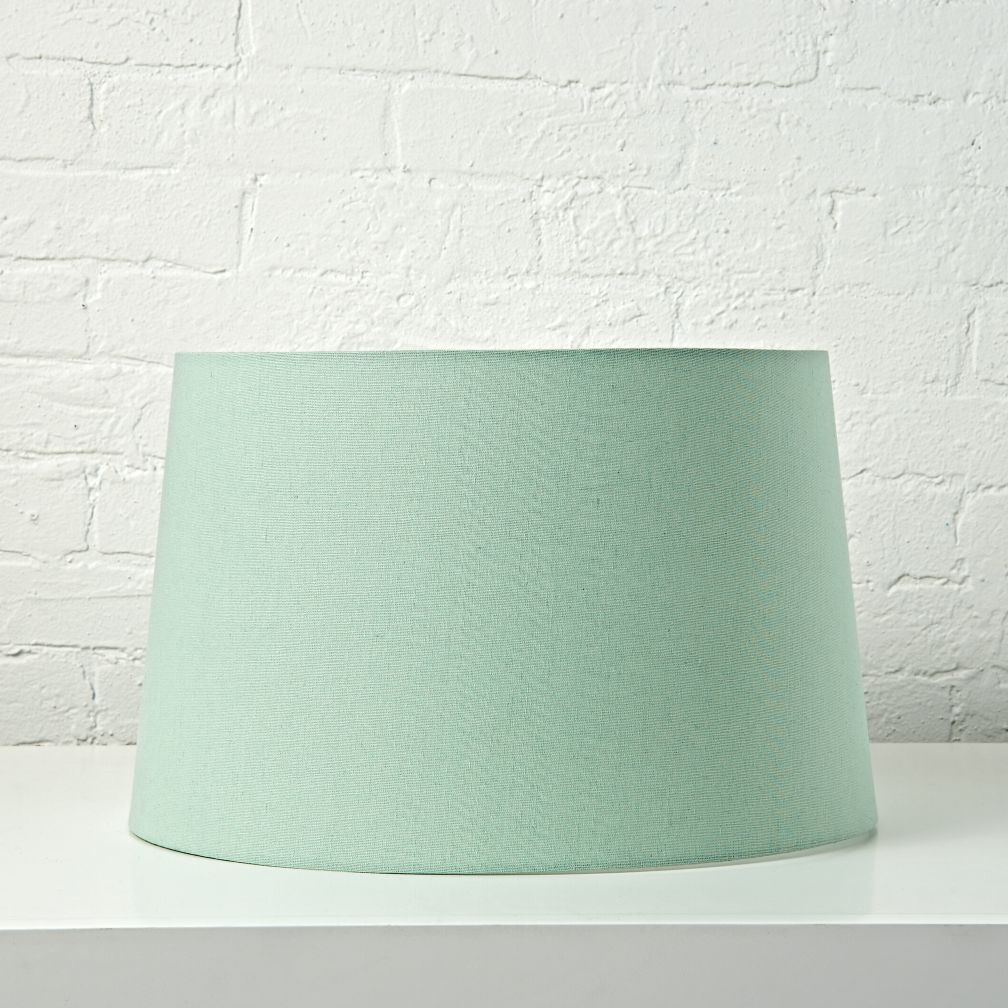 Mix and Match Mint Floor Lamp Shade