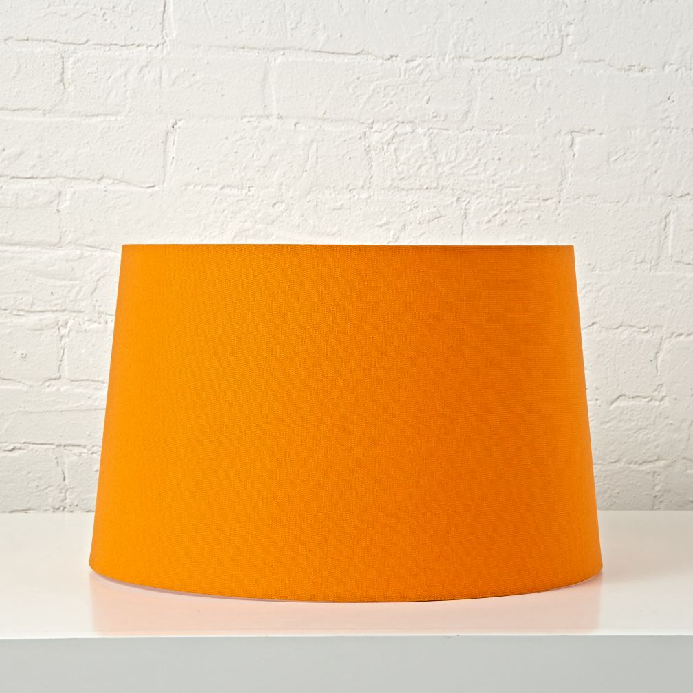 mix and match orange floor lamp shade the land of nod. Black Bedroom Furniture Sets. Home Design Ideas