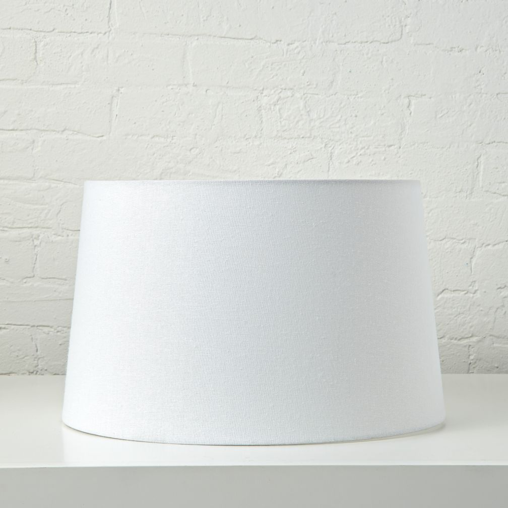 Mix and Match White Floor Lamp Shade