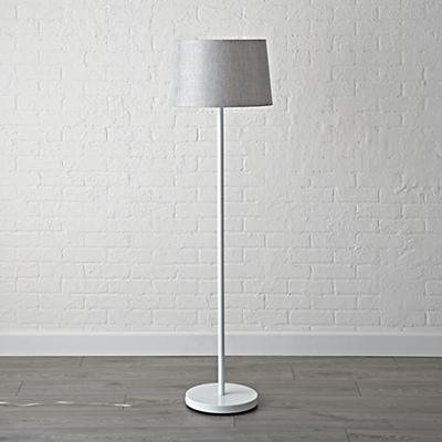 Floor_Lamp_Shade_Silver_Metallic_OFF