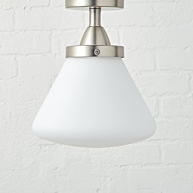 Industrial Flush Mount Ceiling Light The Land Of Nod