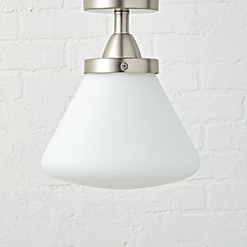Industrial Flush Mount Ceiling Light