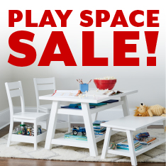 Play Space Sale. Restrictions apply.