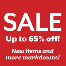 Up to 65% off Sale. Restrictions apply.