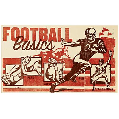 Poster Play Football Wall Art (Unframed)